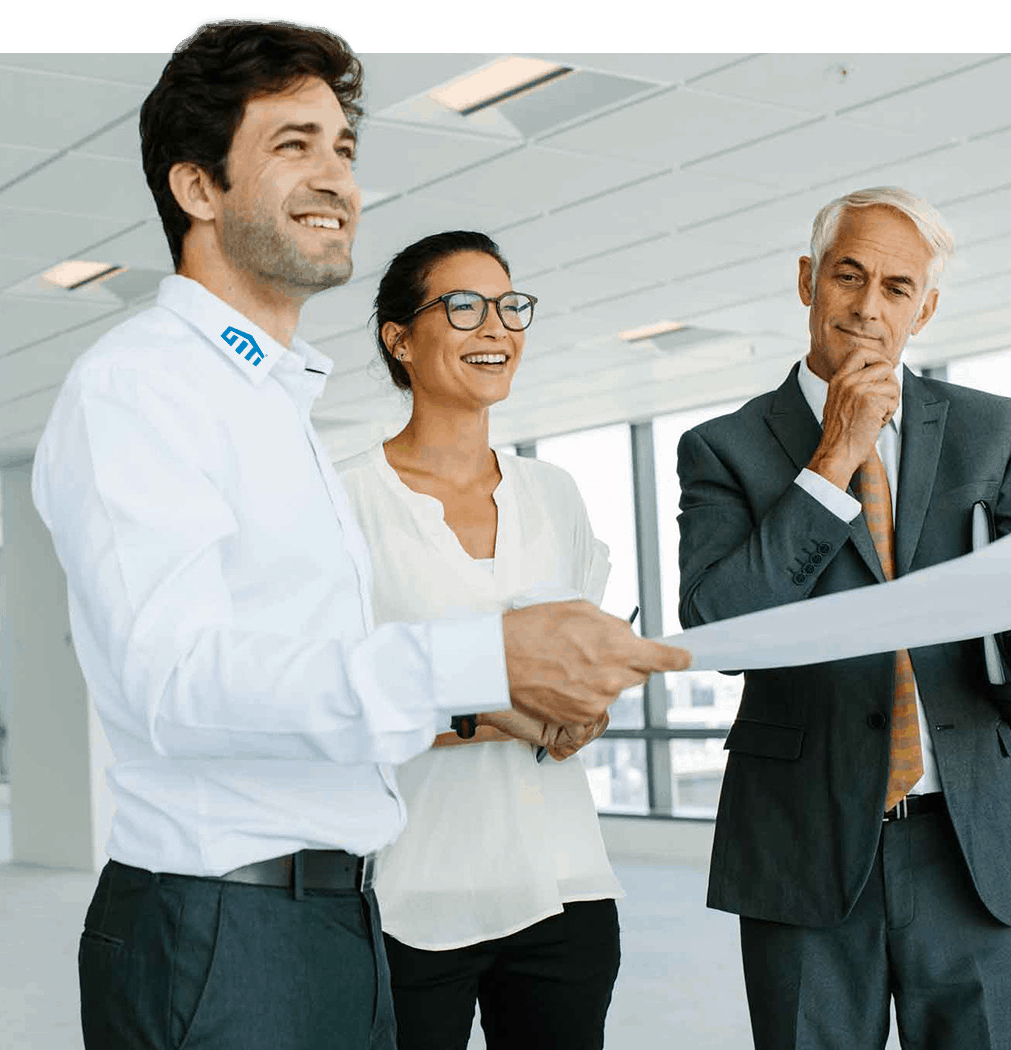 GITI Besprechung mit Kunden